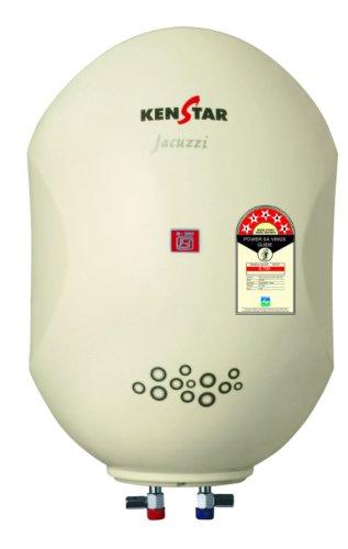 Kenstar Jacuzzi KGS25W5P 25-Litre Storage Water Heater (Cream)