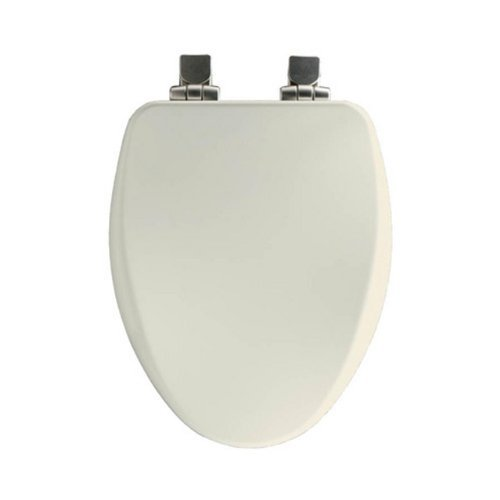 church-18170nisl-346-elongated-soft-close-toilet-seat-with-nickel-hinges-linen-by-church