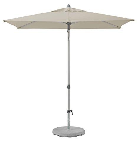 Suncomfort by Glatz Push up, off-grey, 210x150 cm rechteckig, Gestell Aluminium, Bespannung Polyester, 4.2 kg