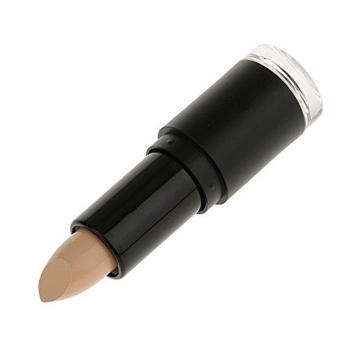 MagiDeal Maquillaje Iluminador de Cara Ojo Ocultador Supermercado Bronceador Contorno Palo Crema - Color de piel
