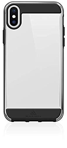 Black Rock Air Robust Case Hülle kompatibel mit Apple iPhone XS Max Schwarz