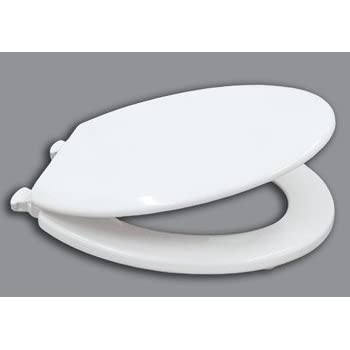 wooden white toilet seat. White Moulded Wood Slow Close Toilet Seat with Smart Lift Hinge