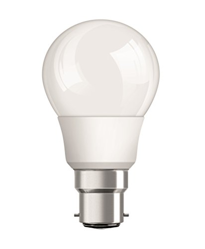Osram Base B22D 9-Watt Classic-A LED Bulb (Frosted White)