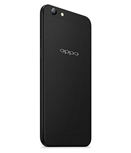 V CAN Premium Flexible Soft Silicone Rubber TPU Cover Ultra Slim Shockproof Resistance Protective Back Soft Bumper Case Cover for Oppo A57 - (Black)
