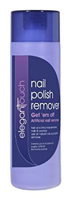 Elegant Touch Get 'Em Off Nail Polish And Artificial Nail Remover