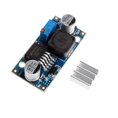 Für Arduino-Kits LM2596 - adj DC-DC einstellbar Setzungsreduktion Spannungsentlastung Modul mit Aluminium-Kühlkörper Für Arduino. Adj Lcd