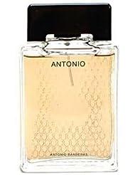 Antonio pour Les Homme Coffret - 30 ml Eau de Toilette Vaporisateur + 30 ml Après-rasage Splash + 75 ml Gel Douche