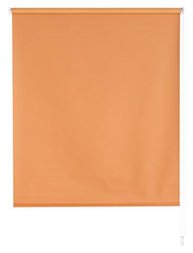Blindecor Draco - Estor Enrollable Tipo Blackout, Liso, 120 x 175 cm, Color Naranja