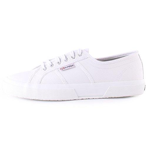 Superga Unisex-Erwachsene 2750 Ukfglu Sneakers Weiß 3NyBjghE7t