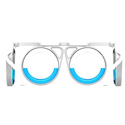 KISSION Motion Sickness Brille, Antimotionsbrille zur Heilung von Reisekrankheit in Wenigen Minuten, Originales Echtes Auto, Getrunkenes Augenleiden. Schwindel und Schwindelfreiheit (A) (Erstellen Sie Eine Sales-team)