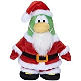 Disney Club Penguin 6.5 Inch Series 5 Plush Figure Santa [Includes Coin with Code!] by Club Penguin