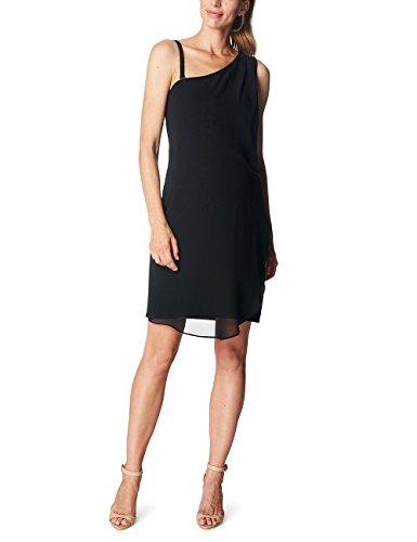 esprit maternity kleid ESPRIT Maternity Damen Umstandskleid R84289, Schwarz (Black 001), 44 (Herstellergröße:XXL)