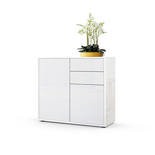 white gloss sideboards. Black Bedroom Furniture Sets. Home Design Ideas