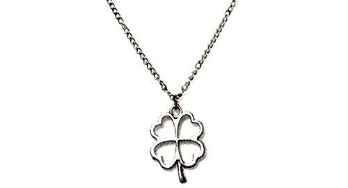 Halskette mit Symbol Quadrifoglio Grüße (Ideen Weibliche Cosplay)