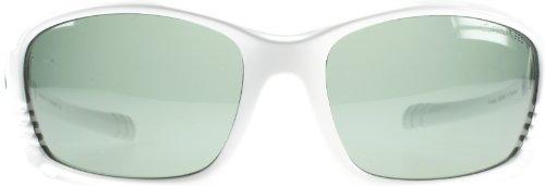 Dirty Dog 53058 Blanc Furious Wrap Sunglasses Polarised Sailing, Fishing,