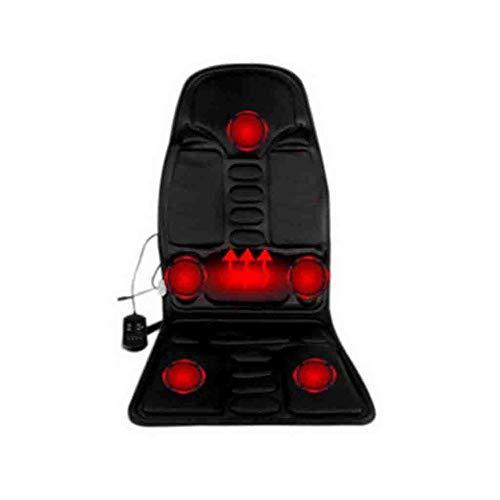 XSSD002 Matratze, Massagegerät, Auto Massagekissen, elektrische Massagegerät, Multifunktions-Haushalt Körper Nackenmassagegerät, Massagekissen, Kissen, Massagekissen (Größe: 49 * 42 * 72cm),Weiß,A