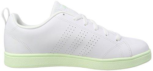 best service 034a3 9f566 ... adidas Damen Vs Advantage Clean Fitnessschuhe Elfenbein (Ftwr  Whiteftwr Whiteaero Green