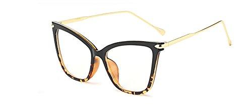 Zokra (TM sexy Schwarze Katze Auge klare Linse weibliche Gl?Ser Art und Weise Brillen optische Rahmen Frauen Gl?Ser Klar Goggles [upblack]