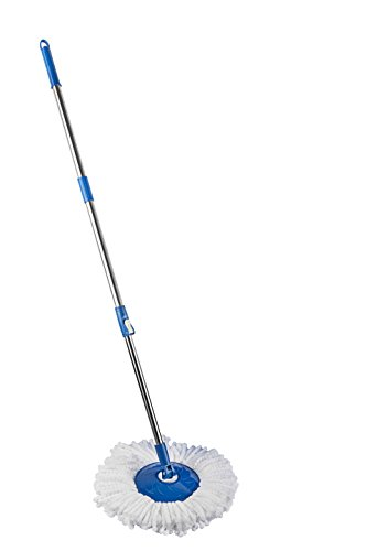 Gala Spin Mop Handle with Refill (White)  available at amazon for Rs.460
