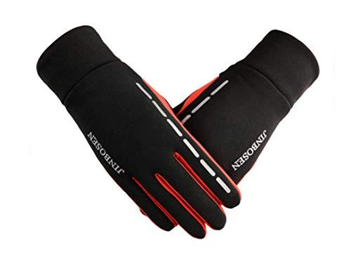 Outdoor Warme Handschuhe herren Winter Touchscreen Samt Winddicht -