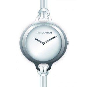 Ted Lapidus A0593RAMF - Reloj analógico de cuarzo para mujer con correa de piel, color blanco