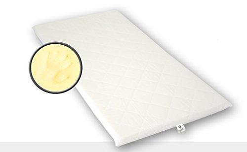Best For You Topper Visco Viscoelastische Auflage Kern 4 cm. + versteppter Bezug 1 cm mit TÜV Zertifikat aus Policotton für die Füllung! Viele Größen zur Auswahl ab 60x120 cm bis 200x200 cm (80x160)