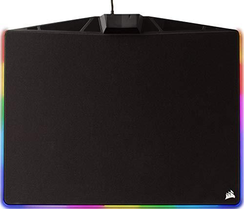Corsair MM800C RGB Tappetino per Mouse da Gioco, Medio, Nero