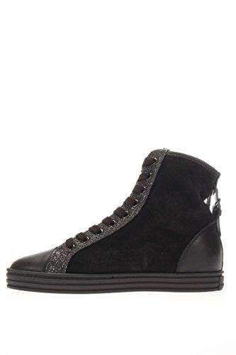 Hogan Rebel Femme Sneaker haute hxw1820d661eja0039Sneaker haute R182centurino Noir