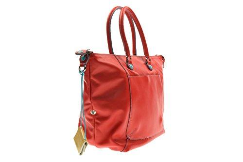GABS donna borsa a mano G3-E17 MOMU PIATTA TRASFORMABILE 1501 Rosso