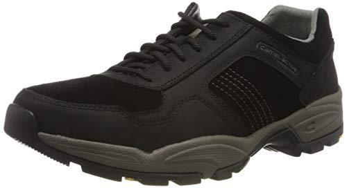 camel active Herren Evolution 44 Sneaker, Schwarz (Black 1), 47 EU
