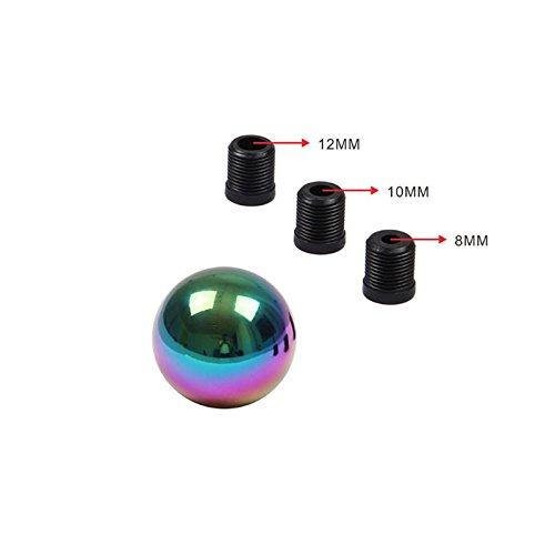 Zanteca - Palanca de cambio de palanca de cambios para coche, forma redonda y colorida, universal