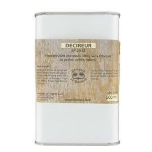 Ferrures & Patines - Decireur - enleve les vieilles cires et nettoie les surfaces encrassees sans attaquer la patine - 500ml
