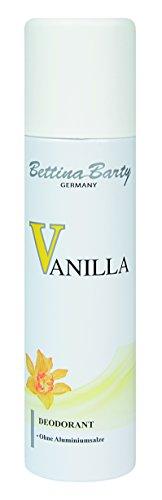 Barty Bettina Vanilla Deodorant Spray, 2er Pack (2 x 150 ml) (Spray Vanilla Deodorant)
