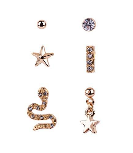 Weisen Männer Kostüm Geburt - SIX Ohrringe in verschiedenen Designs im 6er-Set (797-758)