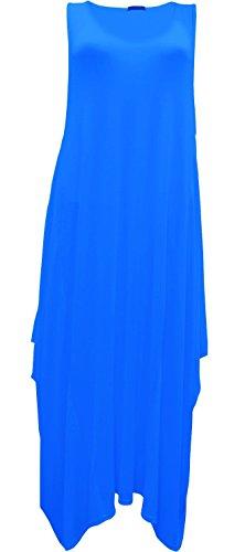 Generic Damen Tunika Kleid Königsblau