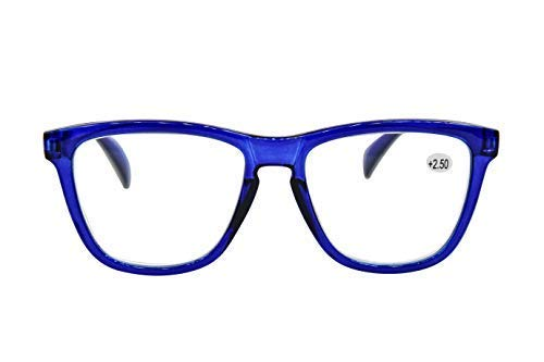 TN49 Classic Retro Wayfarer Style Fashion Reading Glasses +0.5 up to +4.0 Available In 24 Colours Test