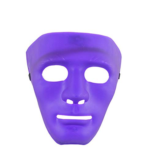 Jabbawockeez Set Kostüm - Foroner Masken Kunststoff Full Face Dekorieren Handwerk Halloween Schule (G)