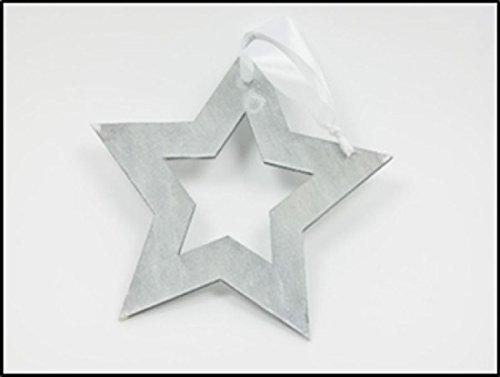 deko-colgador-frisky-gris-22-5079-estrella-21-cm-con-banda-blanca