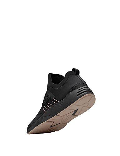 ARKK COPENHAGEN Mens Raven Nubuck S-E15 Mens Black Sneakers Black