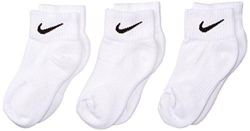 Nike Boy's CTN Cush QTR with Moist Socks (Pack of 3)