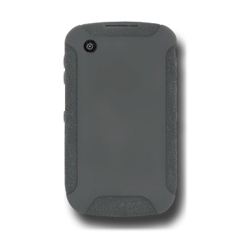 Amzer AMZ89323 Silicone Skin Jelly Case for BlackBerry Curve 3G 9300 and BlackBerry Curve 8520 (Grey)  available at amazon for Rs.199