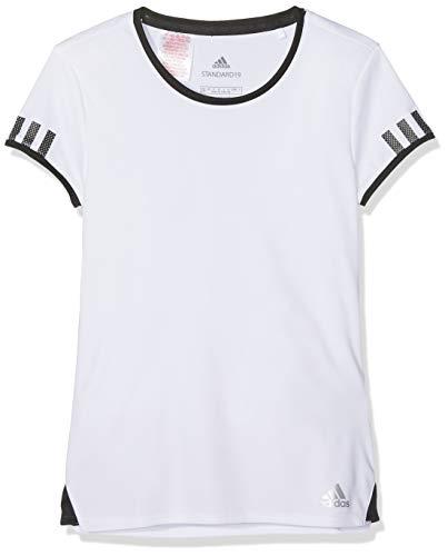 adidas Damen G Club Short Sleeve T-Shirt, White, 170
