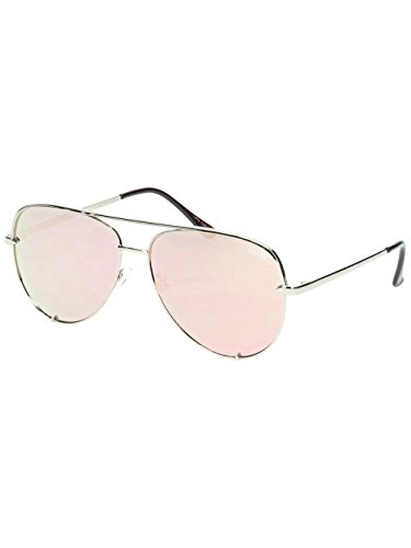 Quay Australia Unisex-Erwachsene HIGH KEY Sonnenbrille, Gold, 150