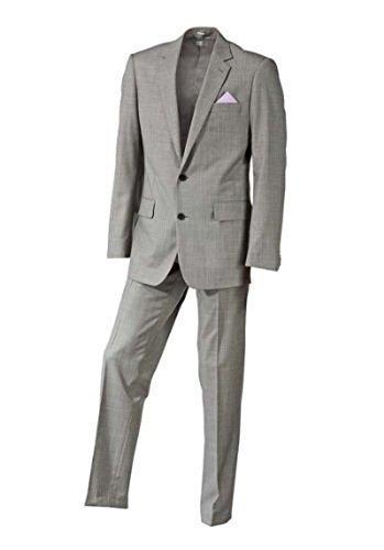 Designer Anzug von Heine in Grau melange Gr. 94 (Herren-designer Anzüge)