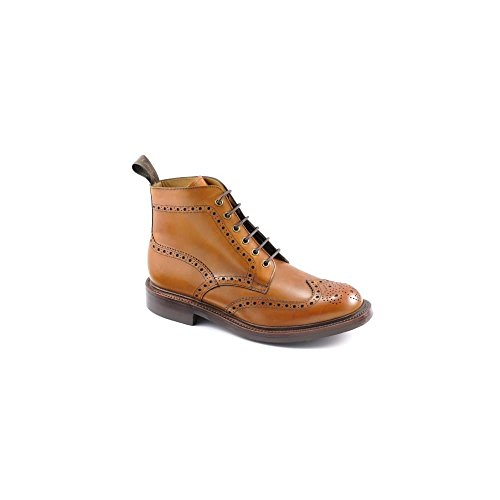 loake-bedale-mens-lace-up-brogue-boots-tan-9-uk