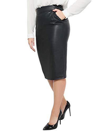 hoch gelobt Einzelhandelspreise Modestile Midi Lederrock - Die größte Auswahl bei der Lederzentrale