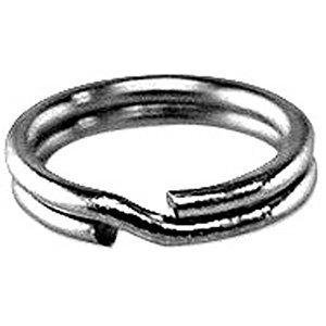 Welded Bliss Sterling 925 Silver Heavy Weight Split Rings. Size 8mm x 5 Rings. WBC1582