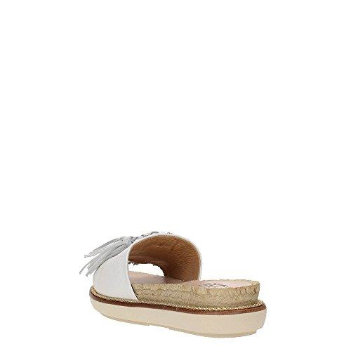 KANNA KV7162 Sandalo Donna Bianco