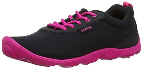 15500,-Schuhe Sports externen Damen, Schwarz - Noir (Black/Candy Pink) - Größe: 33^34 ()