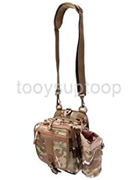 Alcoa Prime Waist Fanny Pack Water-Resistant Soft Sided Shoulder Carry Strap Camouflage